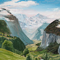 Lauterbrunnen Valley Switzerland by Jay Johnson