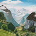 Lauterbrunnen Valley Switzerland by Jay Johnson