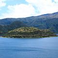 Lava Dome Island In Lake Cuicocha by Robert Hamm