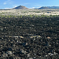 Lava Flow And Schonchin Butte, Lava Beds Nm, California, Usa by Robert Mutch