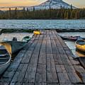 Lava Lake Evening  by Matthew Irvin