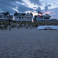 Lavallette Nj Beach Life Guard Boat by Terry DeLuco