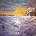 Lavendar Snow by Cynthia Geiger