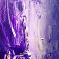 Lavender Cascades In The Purple Mountains by Bruce Combs - REACH BEYOND