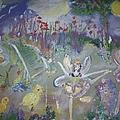 Lavender Fairies by Judith Desrosiers