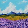 Lavender In Provence by Mike Kraus