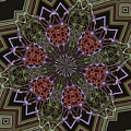 Lavender Mandala 1 by Julia Underwood