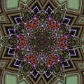 Lavender Mandala by Julia Underwood