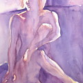 Lavender Nude by Ken Daugherty