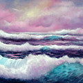 Lavender Sea by Sally Seago