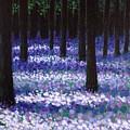 Lavender Woodland by John  Nolan