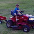 Lawnmower Boy by Pat Turner