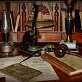 Lawyer - A Lawyers Desk by Paul Ward