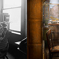 Lawyer - Always Taking Notes - 1902 - Side By Side by Mike Savad