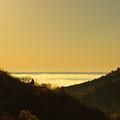 Layer Of Fog Over Colorado Springs by Steve Krull