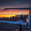 Layered Sunrise On The Ramp by Phil Rispin