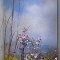 Layers Of Wildflowers by Kathy Russell