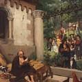 Lazarus And The Rich Man 1865 by Gebhardt Eduard von