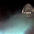 Laser Light Smoke And Great American by Randall Branham