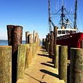 Lbi Down The Dock by John Rizzuto