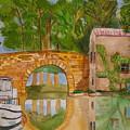 Le Canal Du Midi by Aline Kala