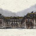 Le Chateau De Versailles by Ronald Bolokofsky
