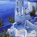Le Chiese Blu by Guido Borelli
