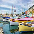 Le Fortune At Nice Harbor, France by Liesl Walsh
