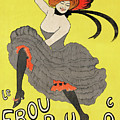 Le Frou Frou Vintage Poster By Leonetto Cappiello, 1899 by Leonetto Cappiello