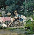Le Heron Familier by Vincente Capobianchi