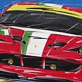 Le Mans Ferrari 458 by Roberto Muccilo