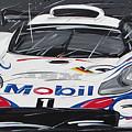 Le Mans Porsche 911 Gt 1995 by Roberto Muccilo
