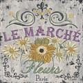 Le Marche Aux Fleurs 1 by Debbie DeWitt