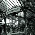 Le Metro As Art by Kathy Yates