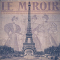 Le Miroir - Paris by Bill Cannon