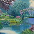 Le Pont Japonais by Tan Nguyen