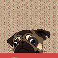 Le Pug Et Le Macaron by MarthaLilia
