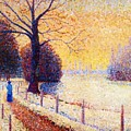 Le Puy In The Snow 1889 by DuboisPillet Albert