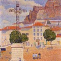 Le Puy The Sunny Plaza 1890 by DuboisPillet Albert