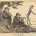 Le Retour De L'age D'or by Honor? Daumier