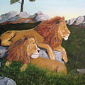 Leaders Of The Pride by John Nickerson