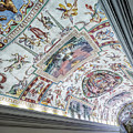 Leading To The Sistine Chapel by Michael Evans