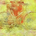 Leaning In Bicycle by Cathy Anderson