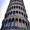 Leaning Tower Of Pisa In Tuscany, Italy by HelenaP Art