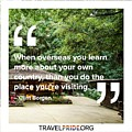 Learning More by Travel Pride
