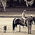 Learning To Ride Sepia by Sarah Loft