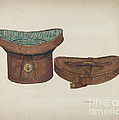 Leather Hat Box by Clarence W. Dawson