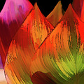 Leaves Aflame by Terry Davis
