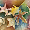 Leaves Of Autumn by Arline Wagner