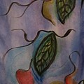 Leaves On Silk by Evelyn Osgood